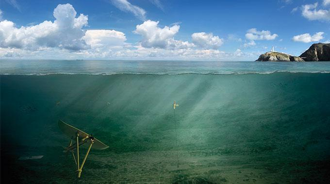 Illustration of a future Deep Green array in Holyhead Deep, Wales.
