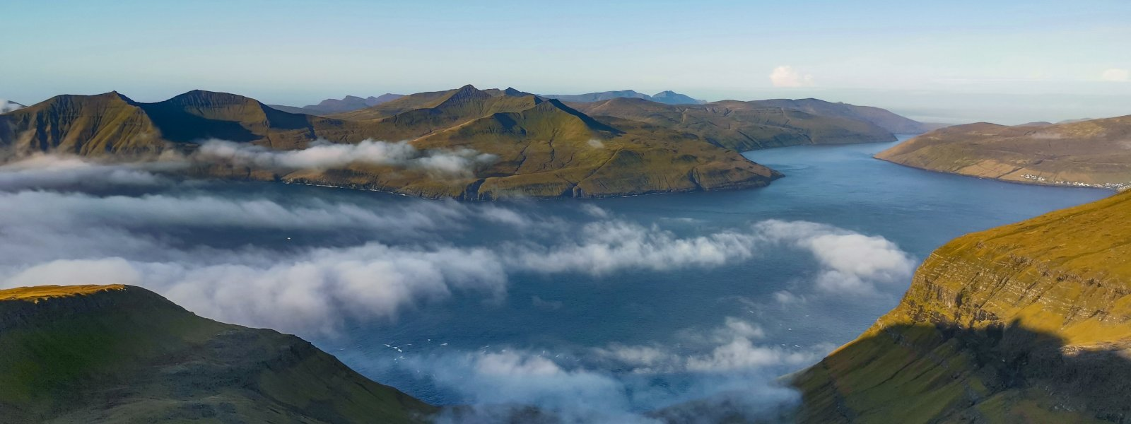 Picture of the Vestmannasund strait in the North West part of the Faroe Islands. Photo: Warren Cardwell