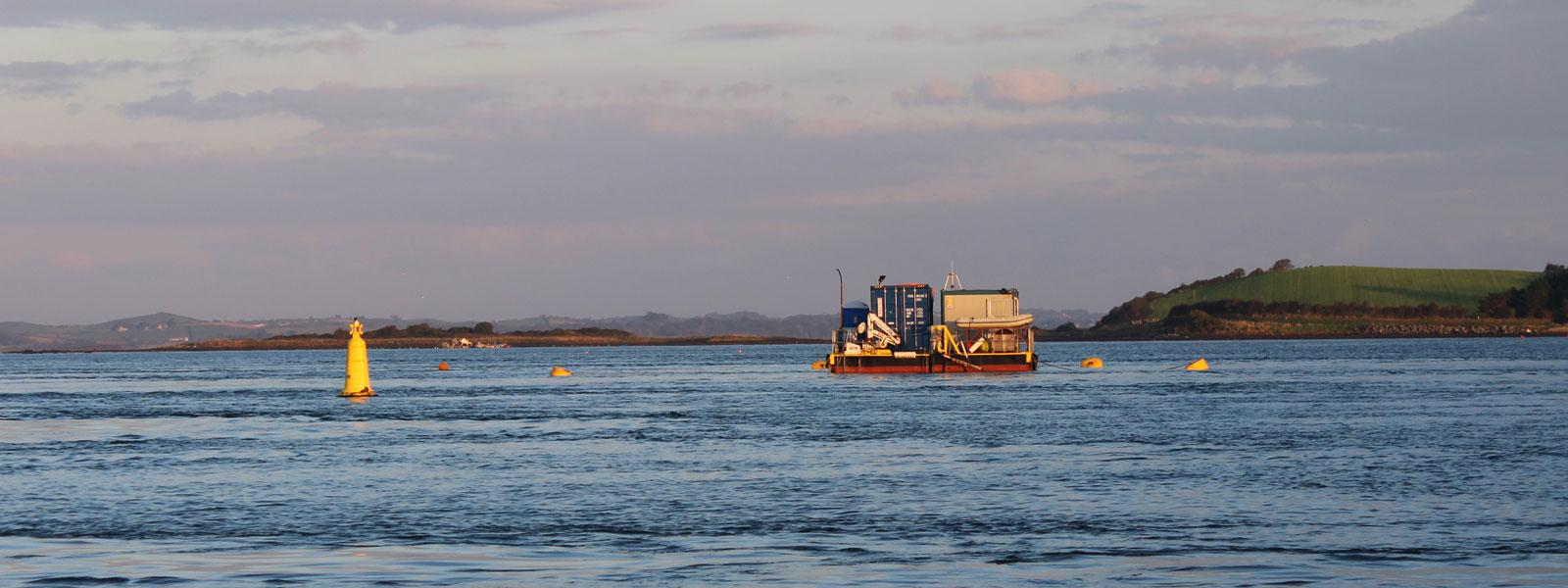 Minesto's test and demonstration facility located in Strangford Lough, Nortern Ireland
